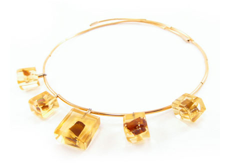 Amber Garden Necklace