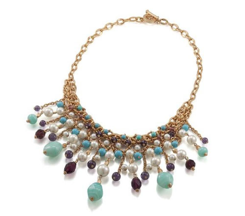 Carolee Glass Bead Necklace