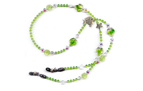 Lime Fish Necklace