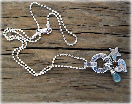 Threes Charm Necklaces