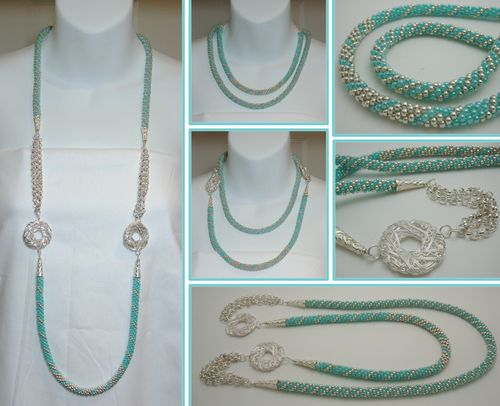 Long Beaded Necklaces