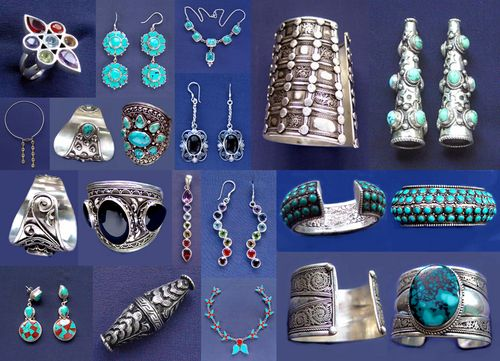Authentic Tibetan Ethnic Jewelry