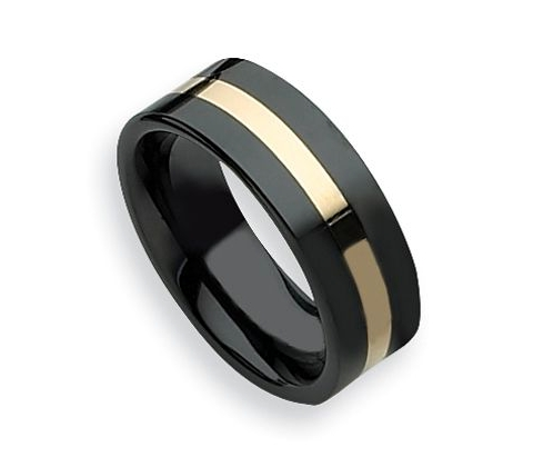 Black Ceramic Band