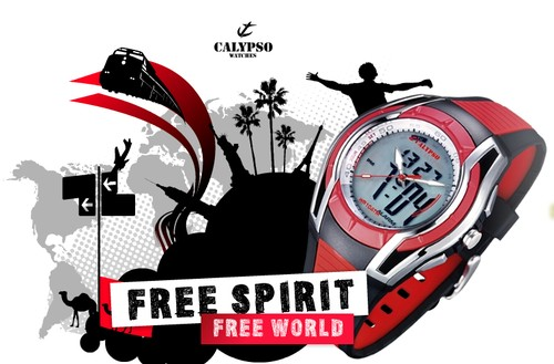 Free Spirit Calypso Watches