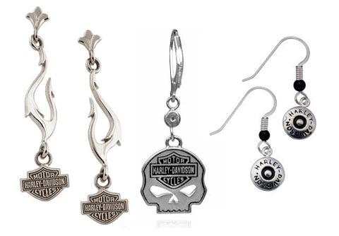 Harley Davidson Earrings