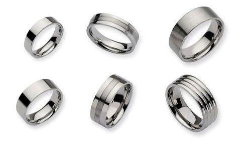 Mens Stainless Steel Bands