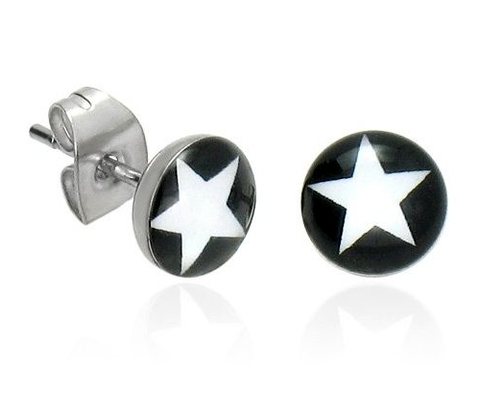 men�s earrings are here to stay