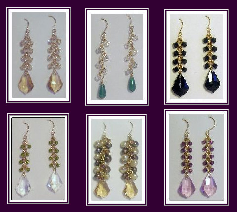 Mias Creations Jewelry Earrings