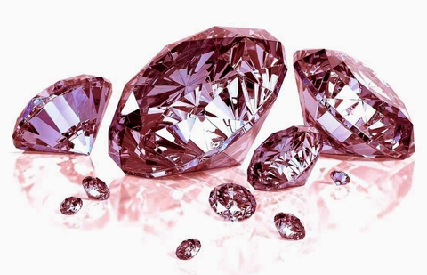 Pink Loose Diamonds