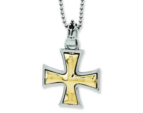 Stainless Steel Biker Cross