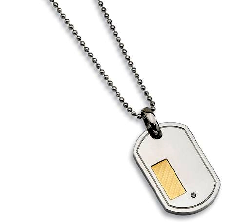 Stainless Steel Dogtag Necklace